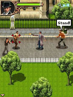 Jeu mobile Sherlock Holmes: Le Jeu Portable Officiel - captures d'écran. Gameplay Sherlock Holmes: The Official Movie Game.