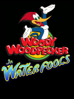 Woody wood pecker: In waterfools