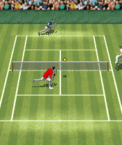 Download free game for mobile phone: Roger federers tennis open - download mobile games for free.