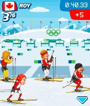 Download free mobile game: Vancouver 2010 - download free games for mobile phone.