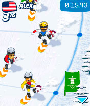 Download free game for mobile phone: Vancouver 2010 - download mobile games for free.