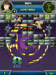Download free game for mobile phone: Ben 10: Alien Force Break in and bust - download mobile games for free.