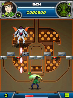 Mobile game Ben 10: Alien Force Break in and bust - screenshots. Gameplay Ben 10: Alien Force Break in and bust.