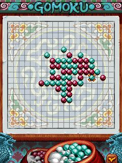 Download free mobile game: Gomoku Christmas - download free games for mobile phone.