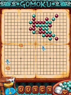 Download free game for mobile phone: Gomoku Christmas - download mobile games for free.