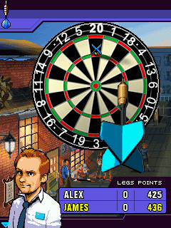 Jeu mobile Le Darts de Minuit - captures d'écran. Gameplay Midnight Darts.