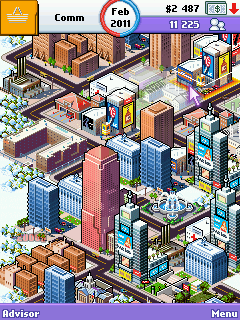 Mobil-Spiel Megastadt-Imperium: New York - Screenshots. Spielszene Megacity Empire: New York.