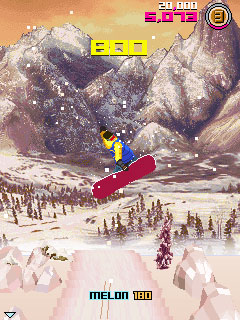 Download free mobile game: Avalanche Snowboarding - download free games for mobile phone.