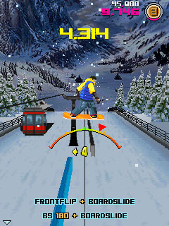 Download free game for mobile phone: Avalanche Snowboarding - download mobile games for free.