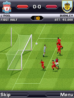 Mobile game FIFA Manager 2010 - screenshots. Gameplay FIFA Manager 2010.