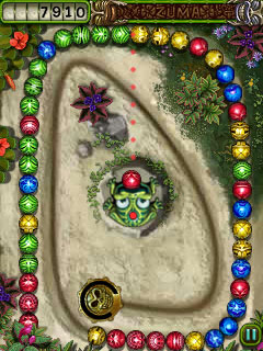 Download free mobile game: Zuma's Revenge - download free games for mobile phone.