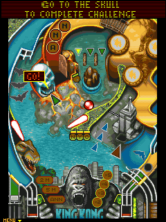 Download free mobile game: King Kong: Pinball - download free games for mobile phone.
