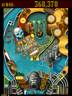 Download free game for mobile phone: King Kong: Pinball - download mobile games for free.