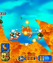 Download free game for mobile phone: Worms 2010 - download mobile games for free.