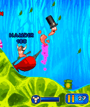 Mobile game Worms 2010 - screenshots. Gameplay Worms 2010.
