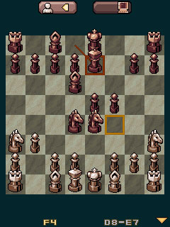 Download free game for mobile phone: Kasparov Chess Deluxe - download mobile games for free.