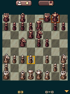 Mobile game Kasparov Chess Deluxe - screenshots. Gameplay Kasparov Chess Deluxe.
