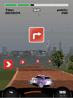 Mobile game Grand Rally Championship - screenshots. Gameplay Grand Rally Championship.
