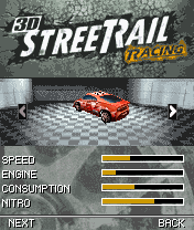 Download free mobile game: 3D Street Rail Racing - download free games for mobile phone.