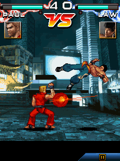 Mobile game Tekken - screenshots. Gameplay Tekken.