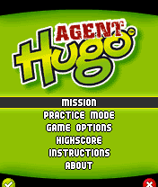 Download free mobile game: Agent Hugo Roborumble - download free games for mobile phone.
