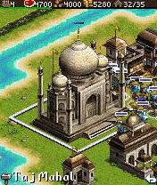 Скріншот java гри Age of Empires III: The Asian Dynasties Mobile. Ігровий процес.
