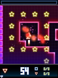Mobile game Neon Runner - screenshots. Gameplay Neon Runner.