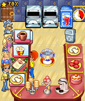 Download free mobile game: Turbo Pizza - download free games for mobile phone.