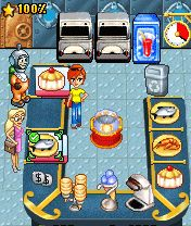 Download free game for mobile phone: Turbo Pizza - download mobile games for free.
