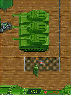 Mobile game Army Men: Mobile Ops - screenshots. Gameplay Army Men: Mobile Ops.