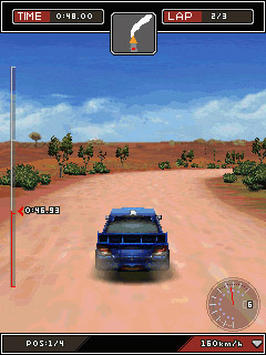 Download free game for mobile phone: Colin McRae: Dirt 2D/3D - download mobile games for free.
