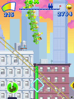 Jeu mobile Les Montagnes Russes: New York - captures d'écran. Gameplay Rollercoaster Rush: New York.