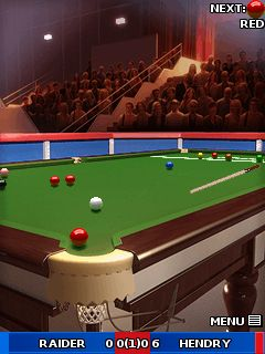 Download free game for mobile phone: Ronnie O'Sullivans: World Snooker 2010 - download mobile games for free.