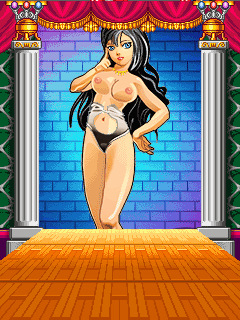 Скриншот java игры Knocker Hentai. Игровой процесс.