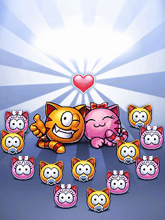 Jeu mobile MiaouSim: le Premier Amour - captures d'écran. Gameplay MeowSim: First Love.