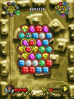 Скриншот java игры Nick Diamond's: Jewel Towers. Игровой процесс.