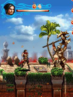 Download free game for mobile phone: Prince of Persia: The Forgotten Sands - download mobile games for free.