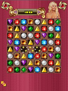 Download free game for mobile phone: Glam Diamants - download mobile games for free.
