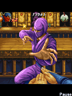 Jeu mobile Shinobi Tolérence - captures d'écran. Gameplay Shinobi Tolerance.