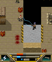 Mobile game Cyber Blood - screenshots. Gameplay Cyber Blood.