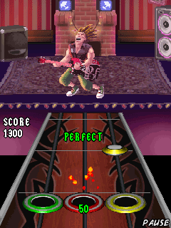 Download free mobile game: Guitar Hero World Tour: Backstage Pass - download free games for mobile phone.