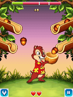 Jeu mobile Tic et Tac, les rangers du risque - captures d'écran. Gameplay Chip & Dale: Rescue rangers.