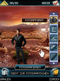 Jeu mobile CSI: Le Lieu du Crime - captures d'écran. Gameplay CSI: Crime Scene Investigation The Mobile Game.