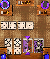 Jeu mobile Le Backgammon - les Vaudous - captures d'écran. Gameplay Voodomino.