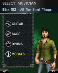 Download free mobile game: Rock Band Mobile - download free games for mobile phone.