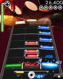 Mobile game Rock Band Mobile - screenshots. Gameplay Rock Band Mobile.