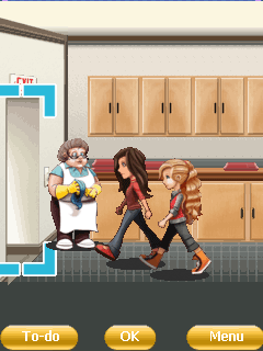 Mobile game iCarly - screenshots. Gameplay iCarly.