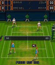 Mobile game Maria Sharapova Tennis - screenshots. Gameplay Maria Sharapova Tennis.