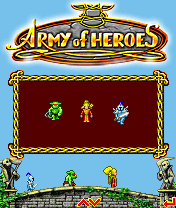 Download free mobile game: Army Of Heroes - download free games for mobile phone.