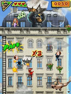 Download free mobile game: Gorilla Rampage - download free games for mobile phone.